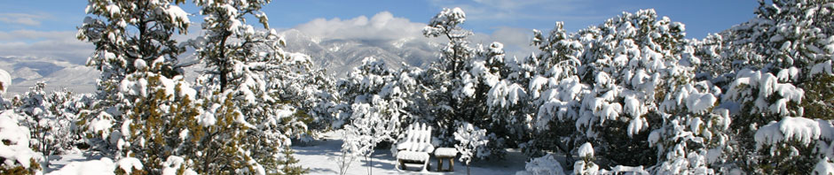 winter in taos